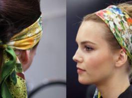 Платок на голову: вот 10 идеальных примеров того, как носить эту модную вещь