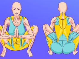 Поза гирлянды — обязательная асана для зрелых женщин. Бодрит и освежает